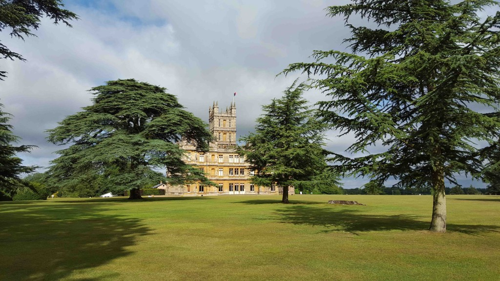 Linda Seger visits Highclere Castle in England
