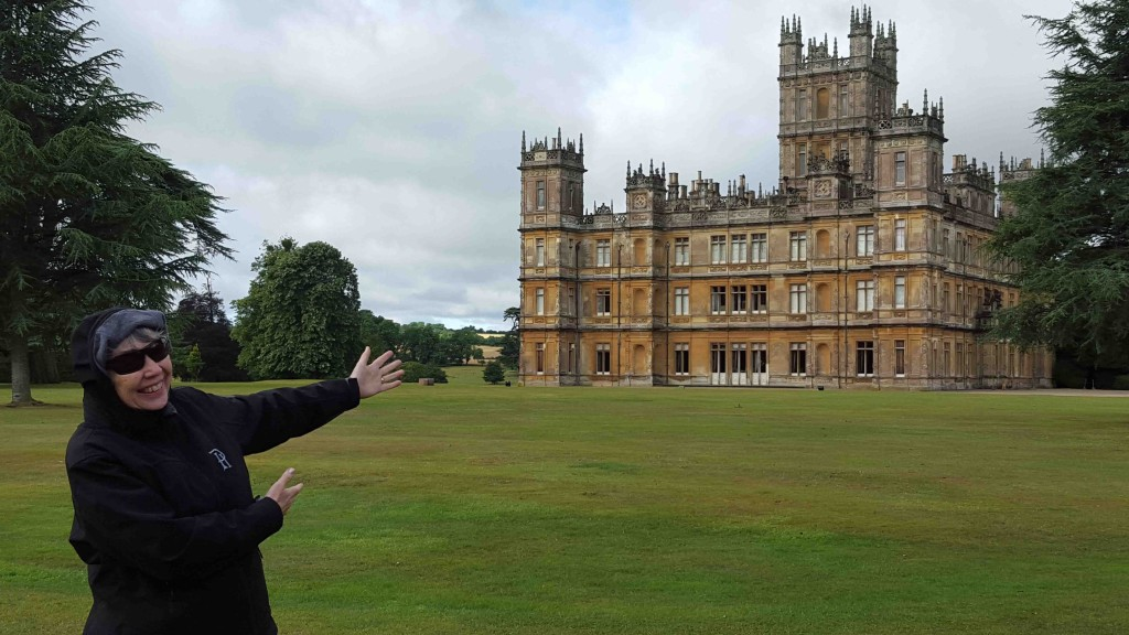 Linda Seger at Highclere Castle