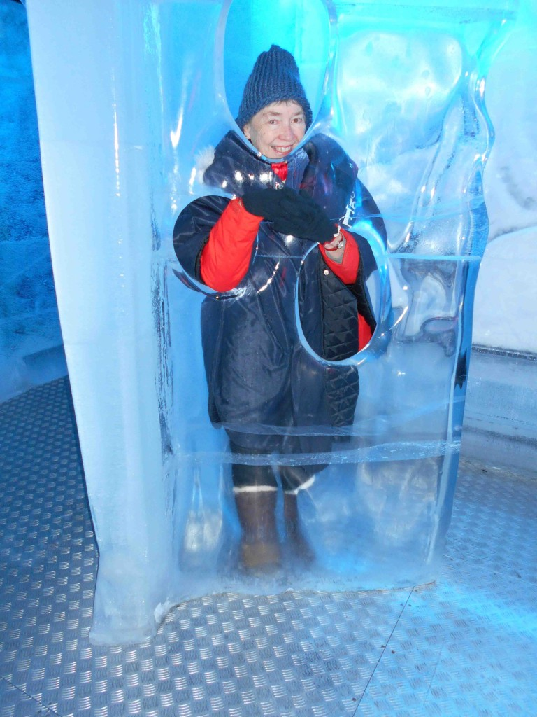 Linda Inside Ice
