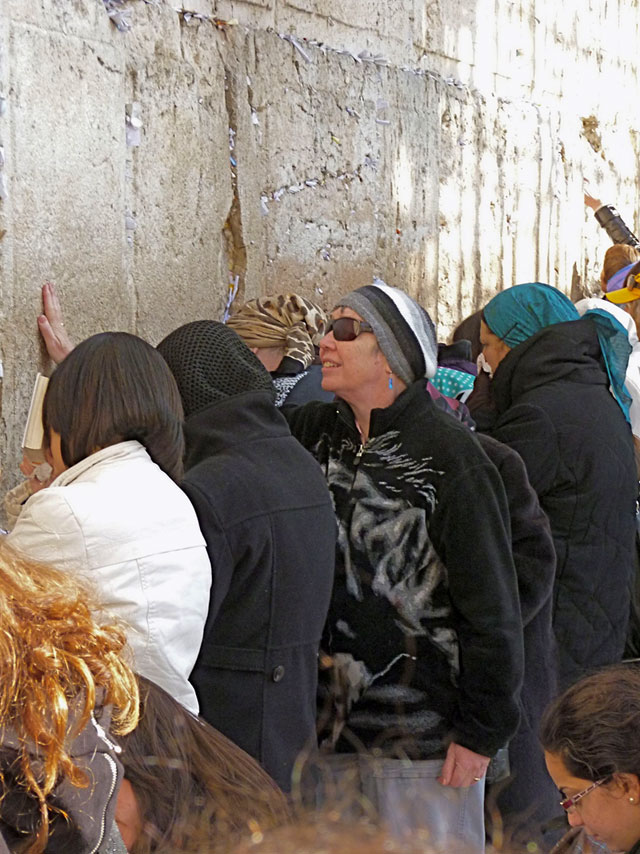 Linda Seger At Wailing Wall