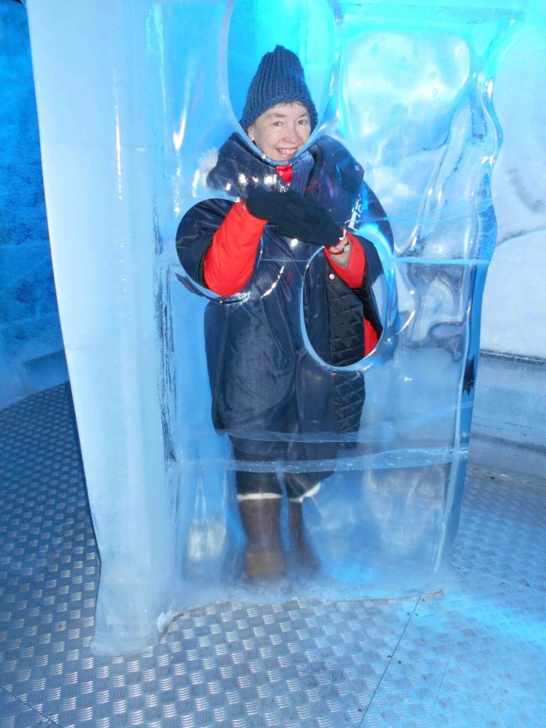 Linda Inside Ice