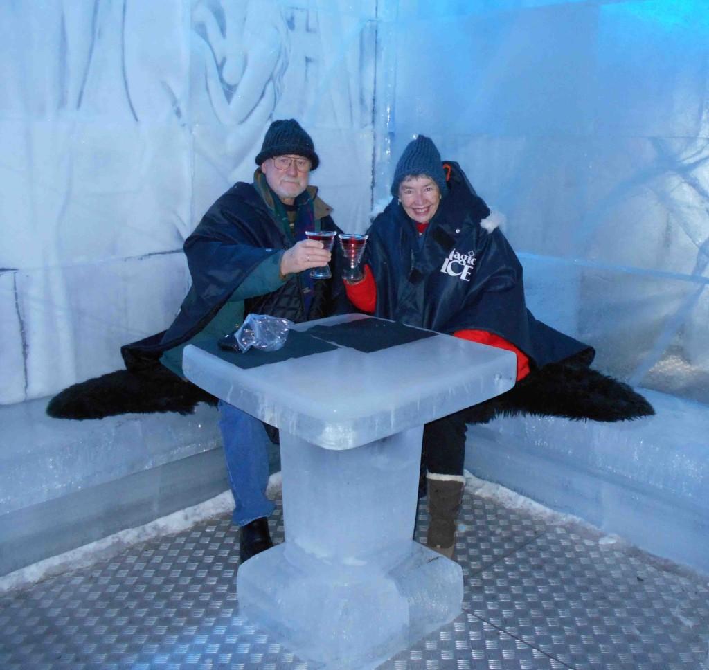 Linda Peter Ice Table